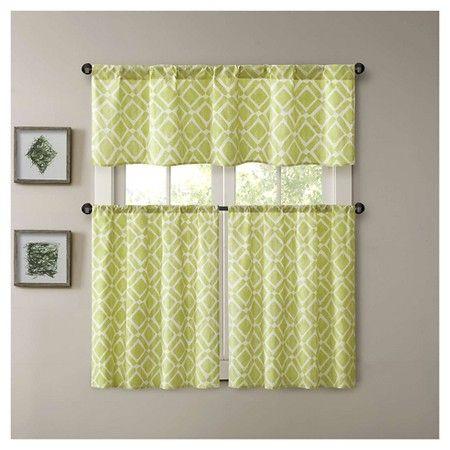 25 Serene Rod Pocket Kitchen Tier Sets Curtain Ideas