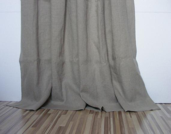 Natural Linen Curtains (View 23 of 25)