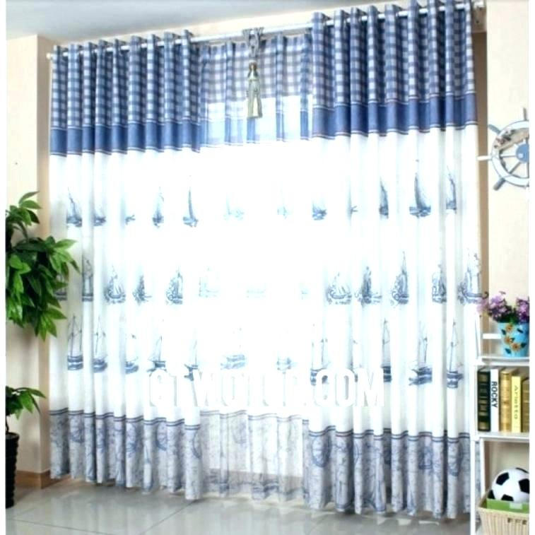 Nautical Window Curtains – Thefigleaf (Image 18 of 25)