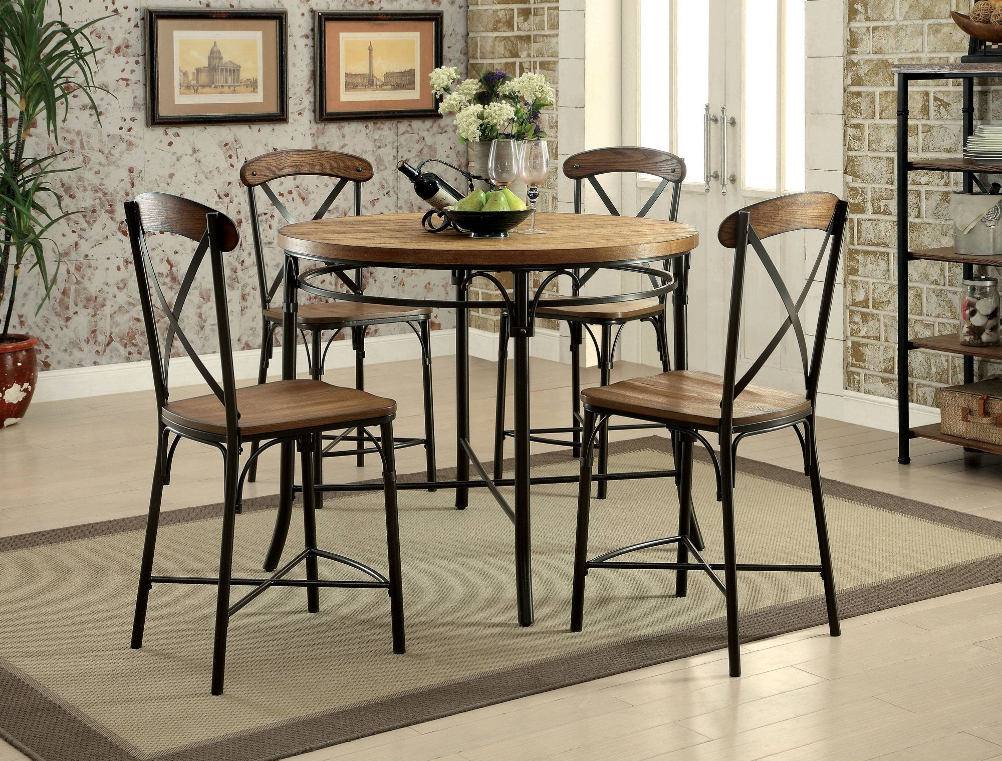 Neeley Side Chair | Products | Round Counter Height Table Inside Current Bismark Dining Tables (View 6 of 25)