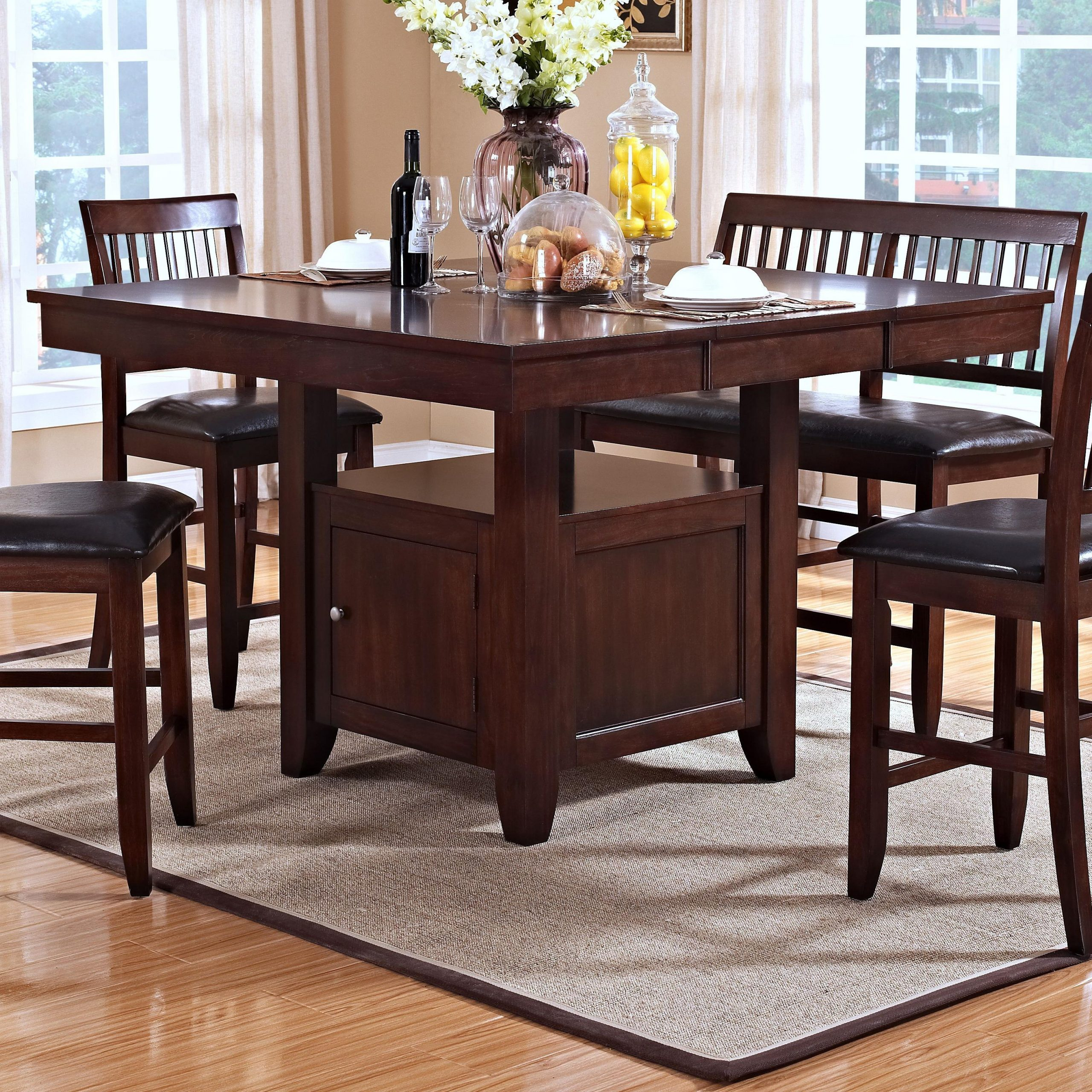 New Classic Kaylee Counter Height Table With Storage Pertaining To 2018 Avondale Counter Height Dining Tables (View 7 of 25)