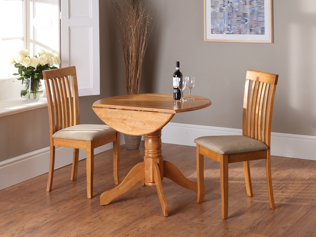 New Drop Leaf Kitchen Table Set Dining Awesome Shayne Round Inside Most Popular Mahogany Shayne Drop Leaf Kitchen Tables (View 19 of 25)