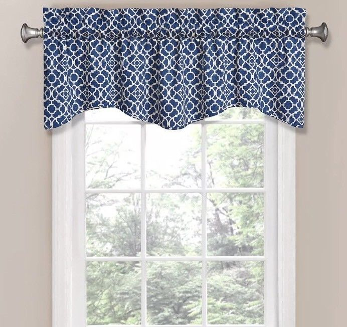 New Waverly Lovely Lattice Rod Pocket And 50 Similar Items Throughout Waverly Felicite Curtain Tiers (View 8 of 25)