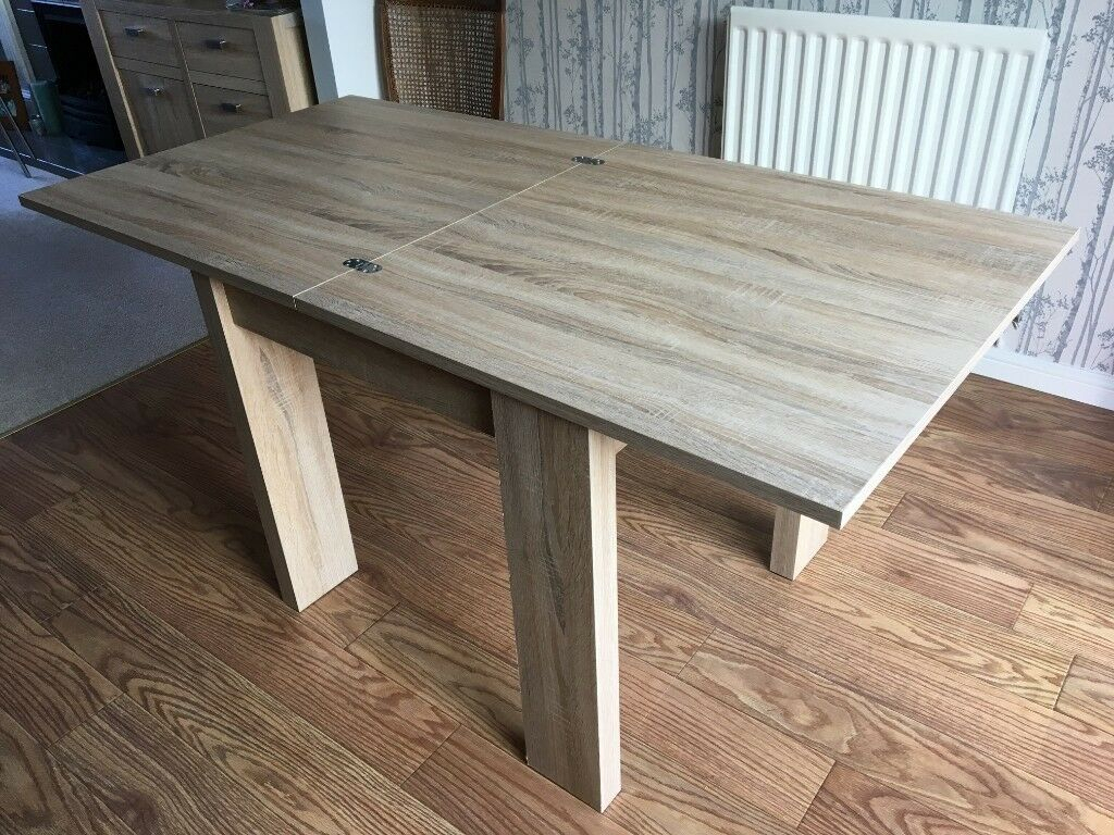 Next 4 6 Seats Extending Dining Table Perfect Condition | In Stone, Staffordshire | Gumtree With Regard To 2017 Stafford Reclaimed Extending Dining Tables (View 12 of 25)