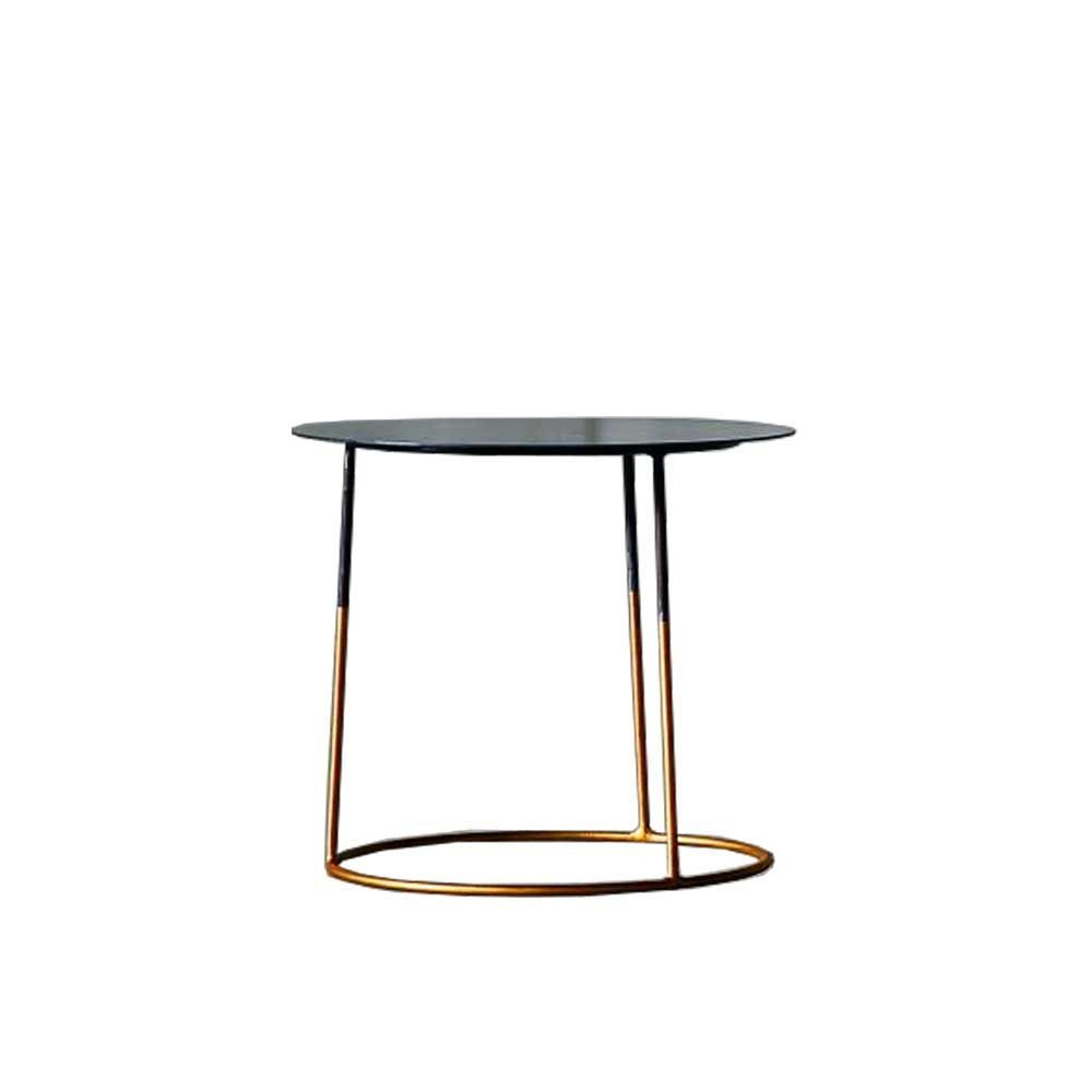 Nimbus 40 Gold Side Table In 2019 | Table, Metal Furniture, Gold In Most Recent Clyde Round Bar Tables (View 17 of 25)