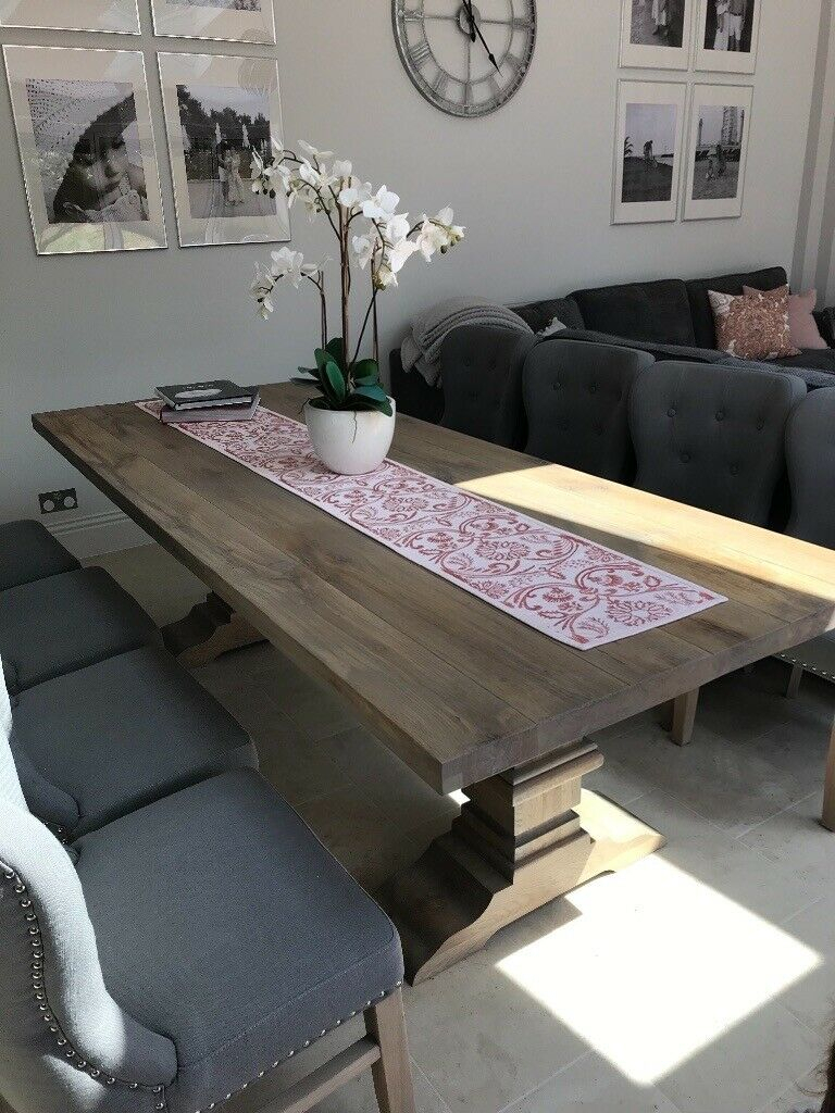 Normandy Oak Dining Table | In Maidstone, Kent | Gumtree Regarding Most Up To Date Normandy Extending Dining Tables (View 12 of 25)