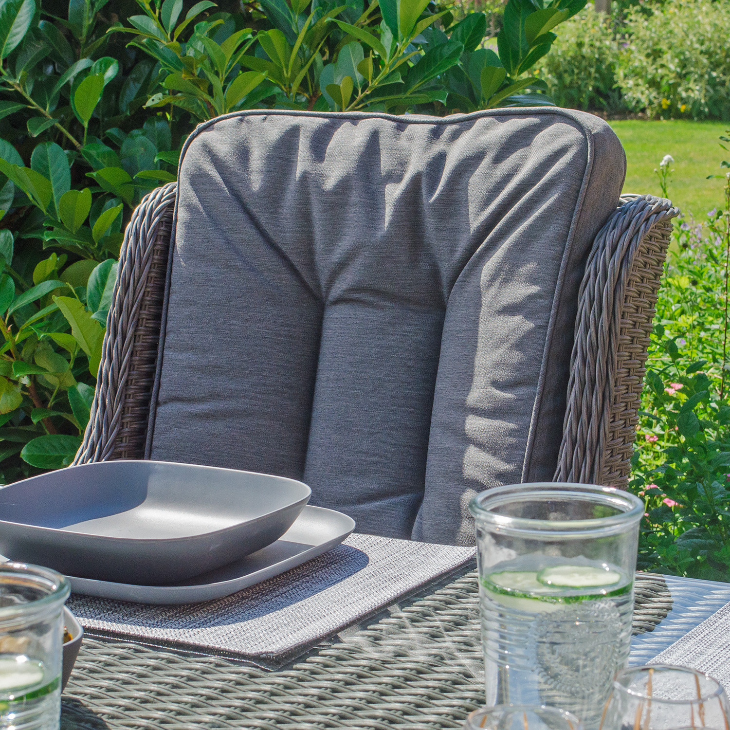 Nova – Heritage Thalia 6 Seat Rattan Dining Set – (View 18 of 25)