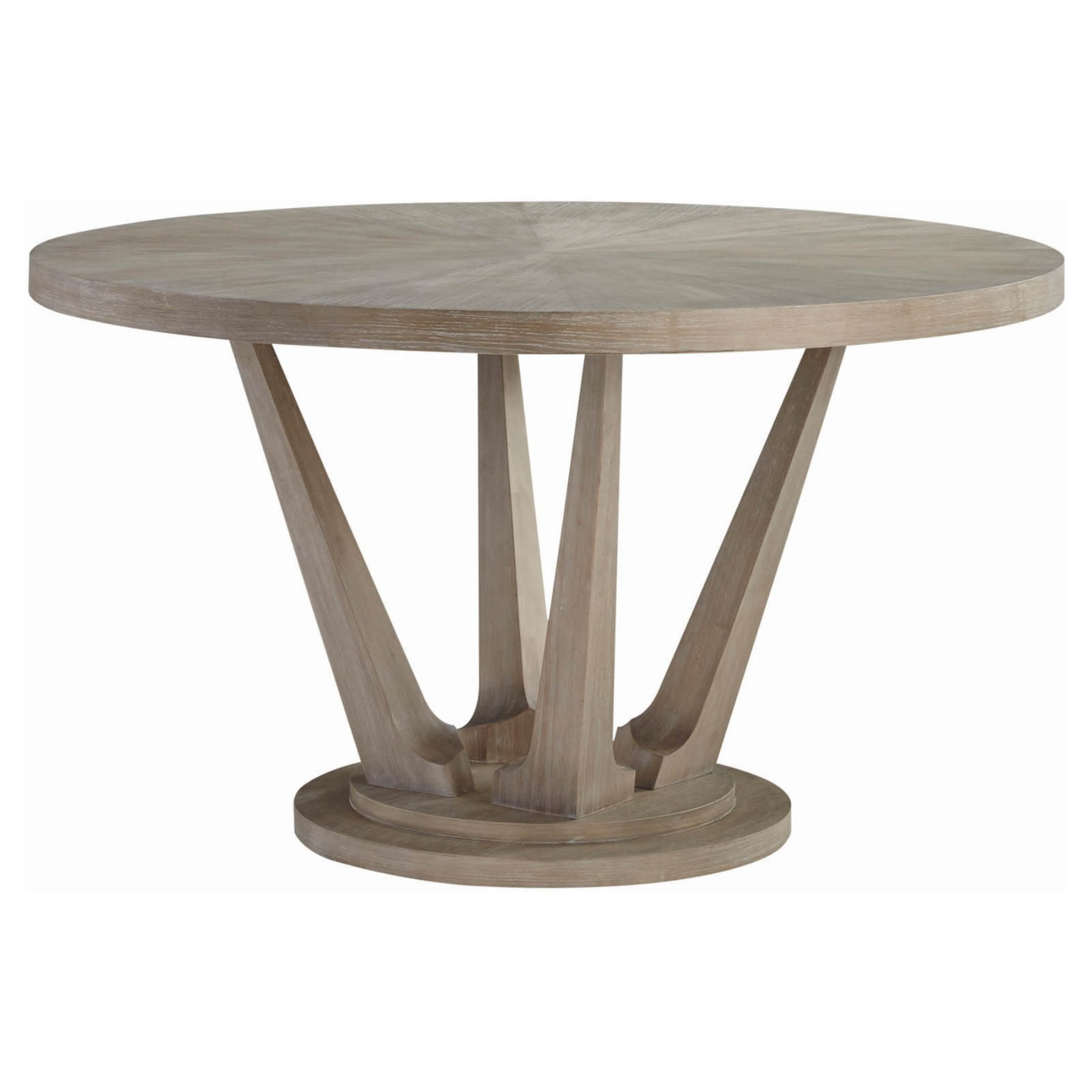 Palliser Alexandra Round Dining Table | Products In 2019 Pertaining To Most Recently Released Gray Wash Livingston Extending Dining Tables (View 7 of 25)