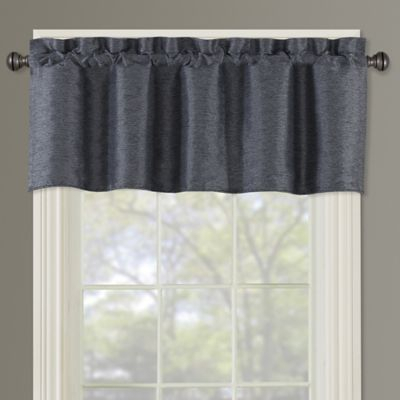 Paradise Window Valance In Indigo | Products | Valance, Bed With Hudson Pintuck Window Curtain Valances (Image 21 of 25)