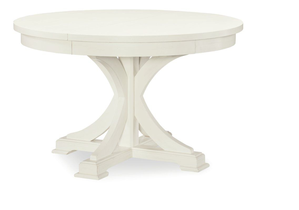 Pedestal Extendable Dining Table | Decor In 2019 | Pedestal In Most Up To Date Warner Round Pedestal Dining Tables (View 6 of 25)
