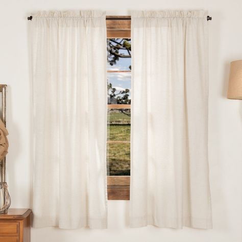Petite Vhc Farmhouse French Country Curtains Simple Life With Regard To Simple Life Flax Tier Pairs (View 7 of 25)