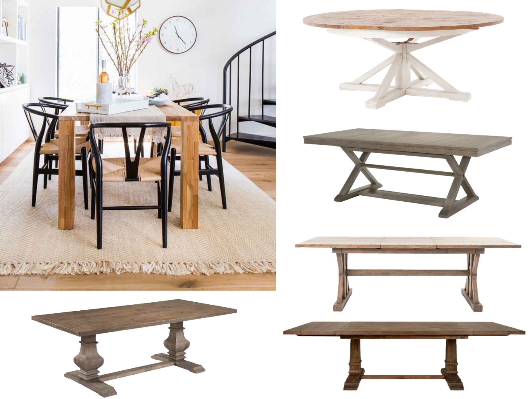 Picking A Dining Room Table ? | Decorist With Most Up To Date Hart Reclaimed Wood Extending Dining Tables (Image 17 of 25)