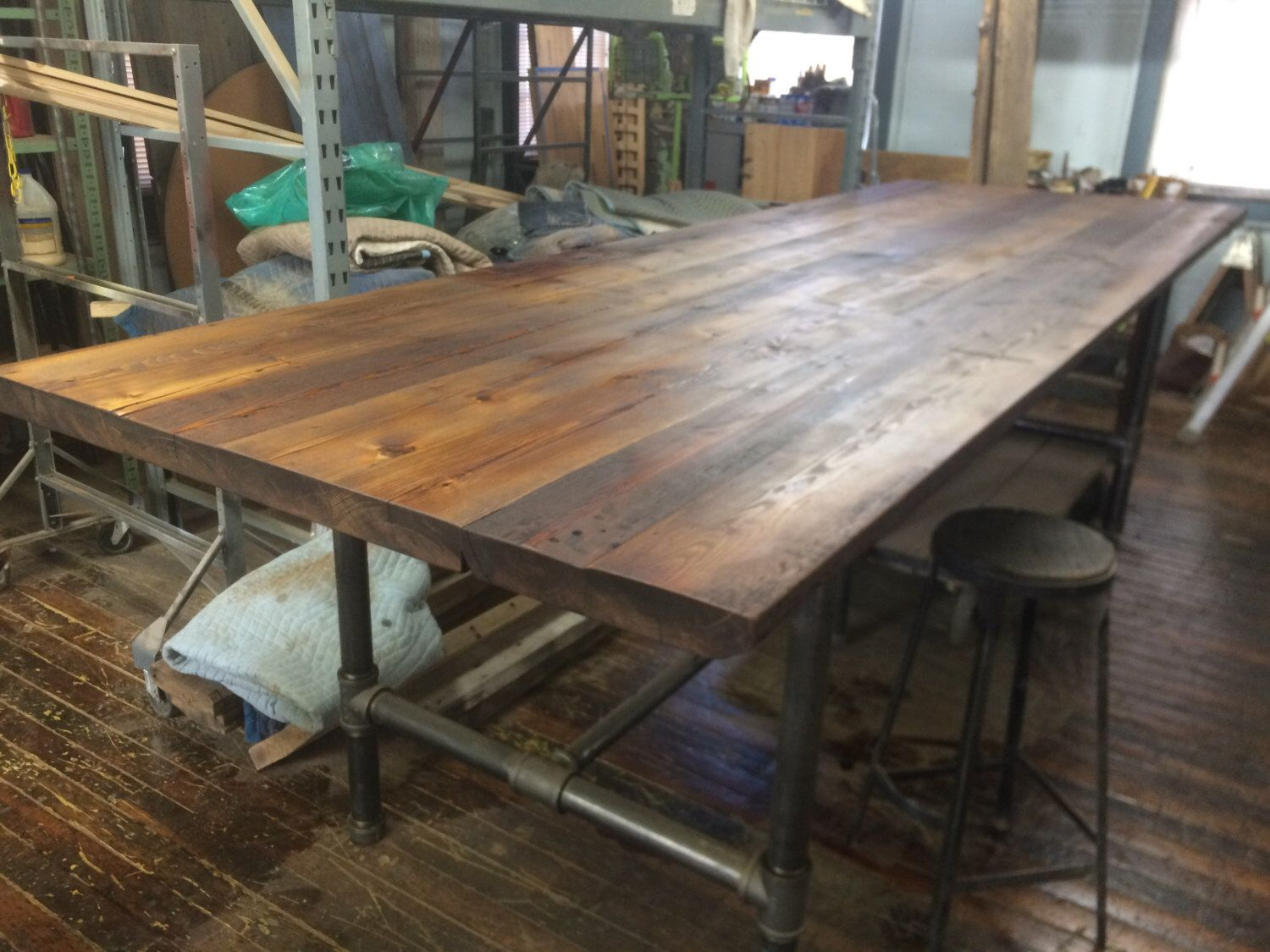 Pin On Park Place With 2018 Griffin Reclaimed Wood Bar Height Tables (View 14 of 25)