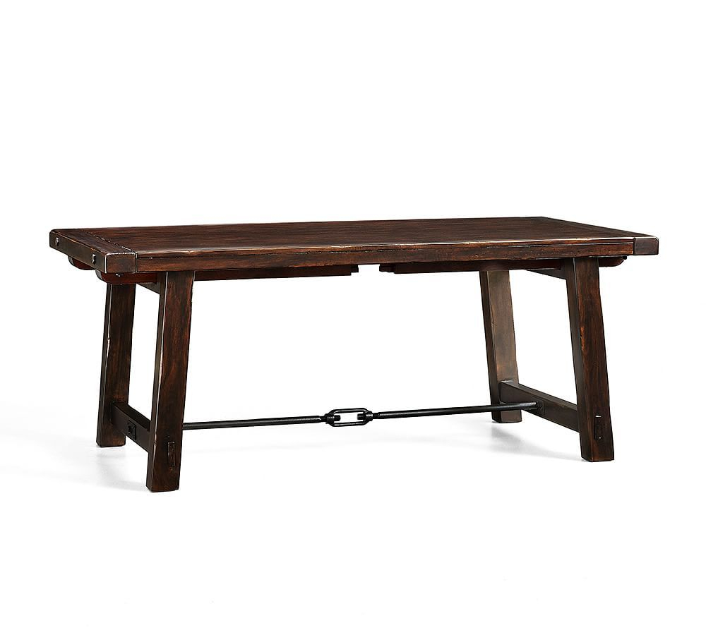 Pin On Tables Intended For Most Popular Rustic Mahogany Benchwright Pedestal Extending Dining Tables (View 4 of 25)