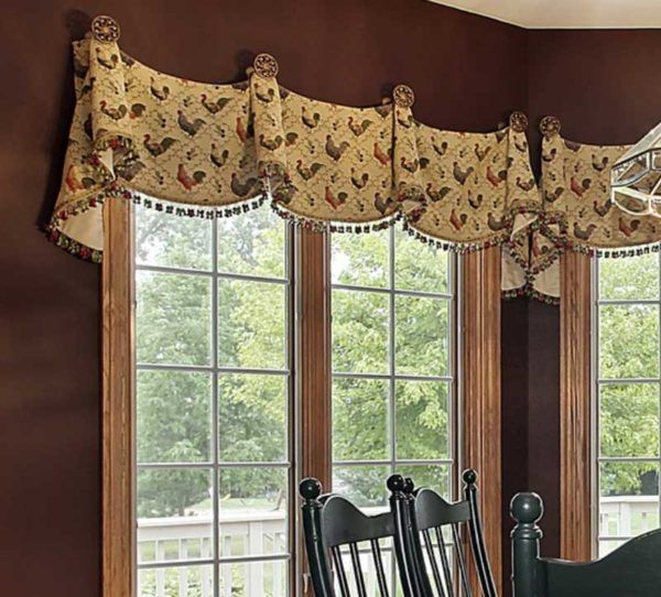 Pin On Window Coverings, Drapes, Etc With Regard To Medallion Window Curtain Valances (View 5 of 25)