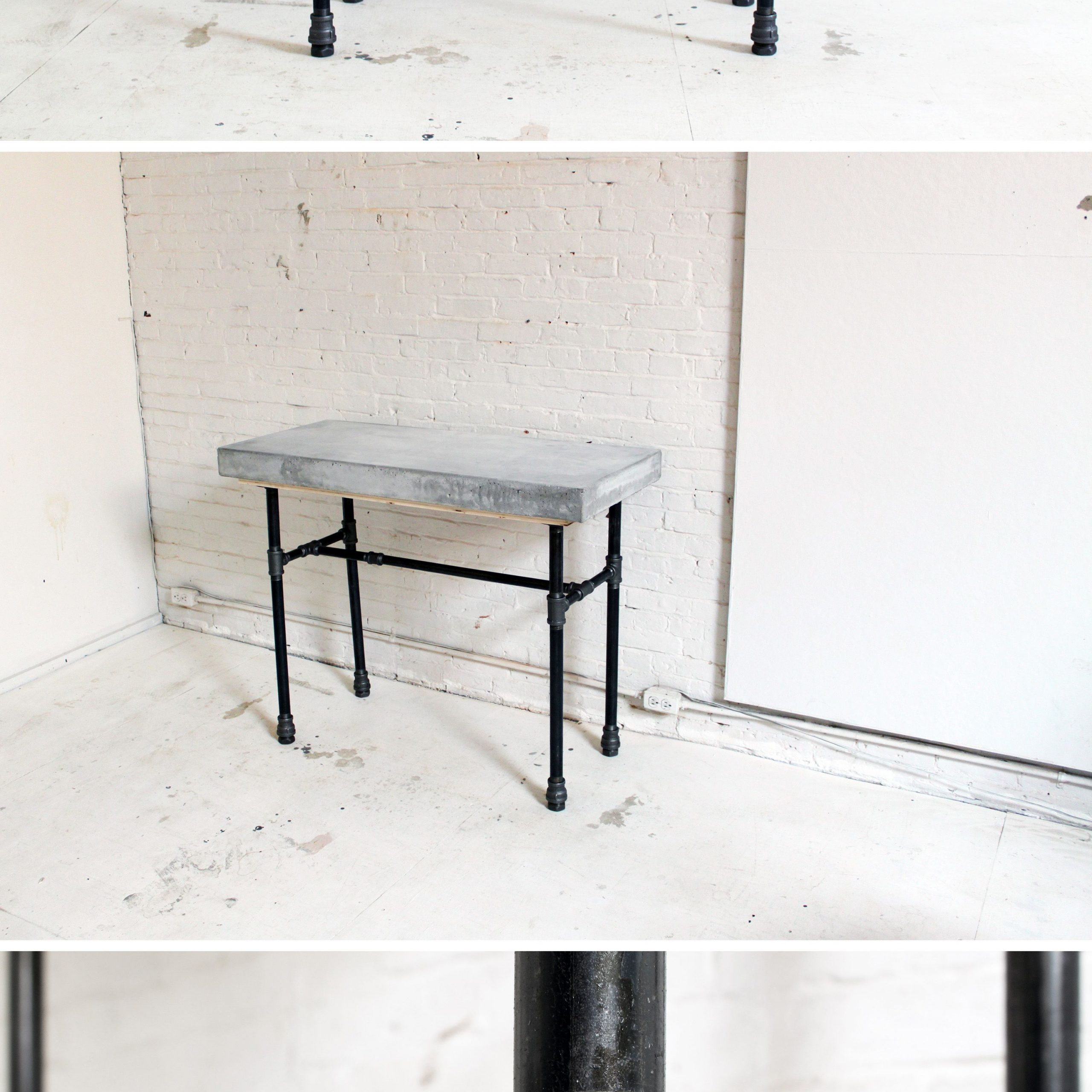 Pinedgar Fernandez On Everything Cement | Pipe Furniture Inside Current Edgar Bar Tables (View 8 of 25)