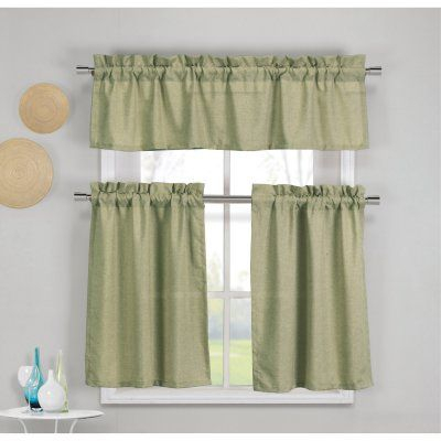 Pinterest Within Twill 3 Piece Kitchen Curtain Tier Sets (View 25 of 25)