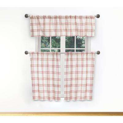 Plaid – Light Filtering Curtains – Curtains & Drapes – The In Light Filtering Kitchen Tiers (View 16 of 25)