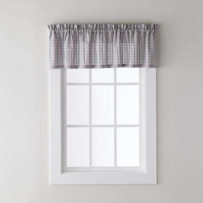 Polyester Blend – Rod Pocket – Curtains & Drapes – Window With Grandin Curtain Valances In Black (View 4 of 25)