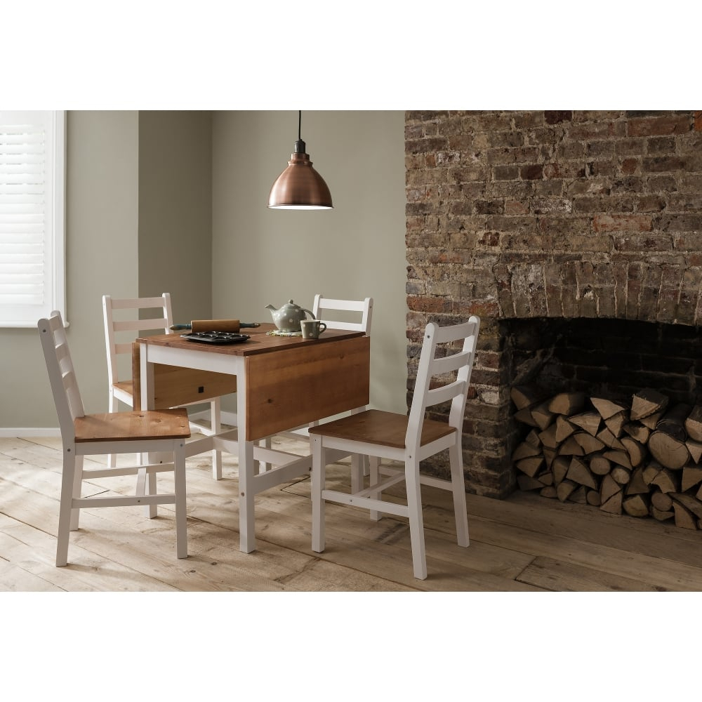 Popular Drop Leaf Kitchen Table Set Dining Popular Annika For 2017 Mahogany Shayne Drop Leaf Kitchen Tables (View 5 of 25)