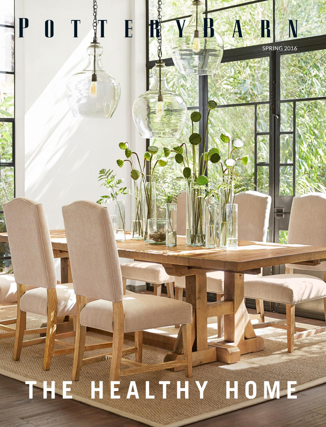 Pottery Barn Australia | Spring Catalogue 2016Williams Inside Latest Hewn Oak Lorraine Extending Dining Tables (View 8 of 25)