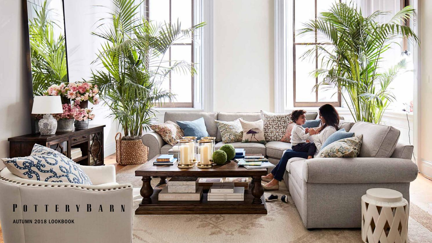 Pottery Barn Autumn 2018 Lookbookwilliams Sonoma Inc With 2018 Seadrift Banks Extending Dining Tables (View 15 of 25)