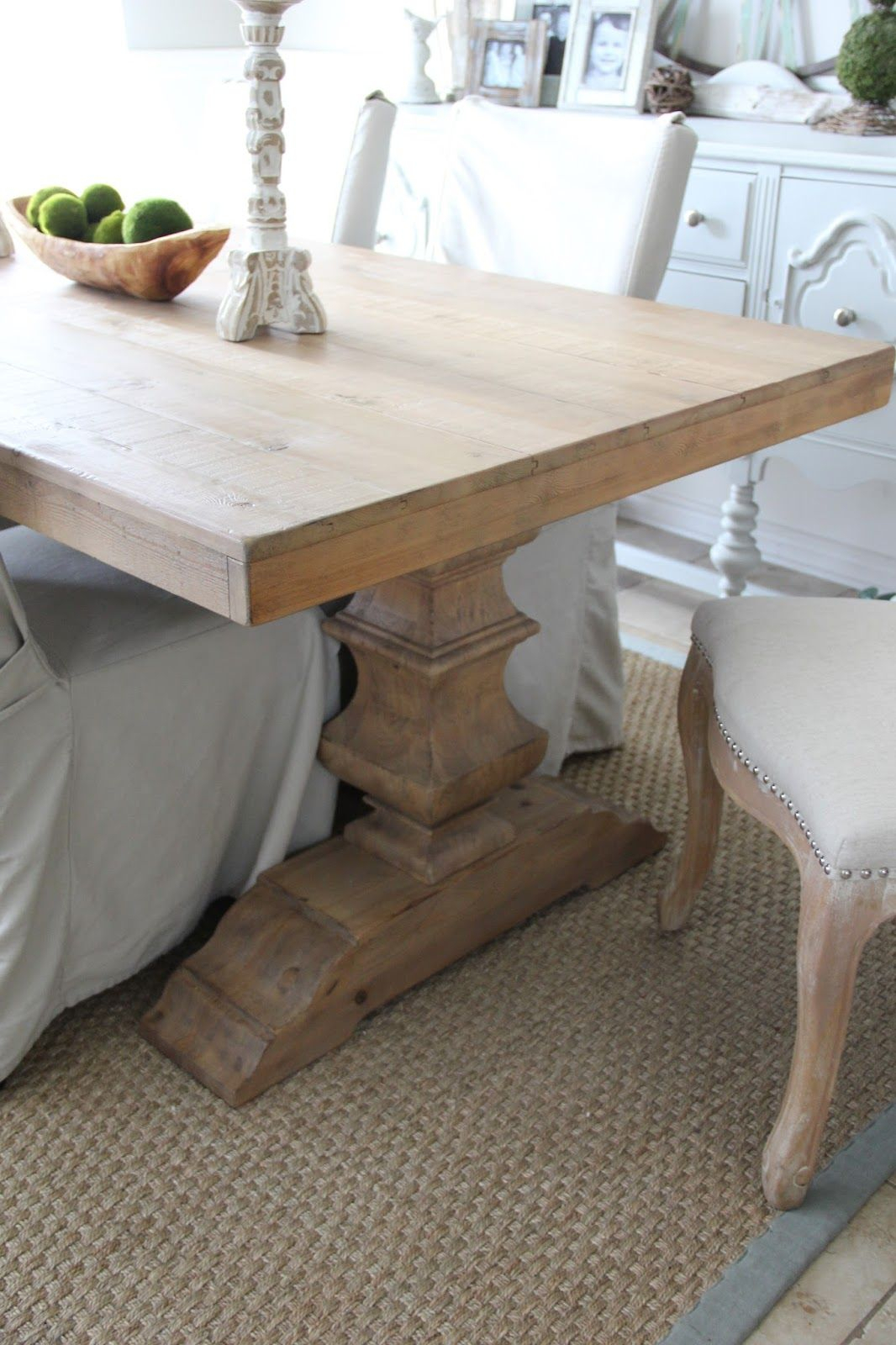 Pottery Barn Banks Dining Table In 2019 | Dining Room Inside Most Recent Seadrift Banks Extending Dining Tables (View 6 of 25)