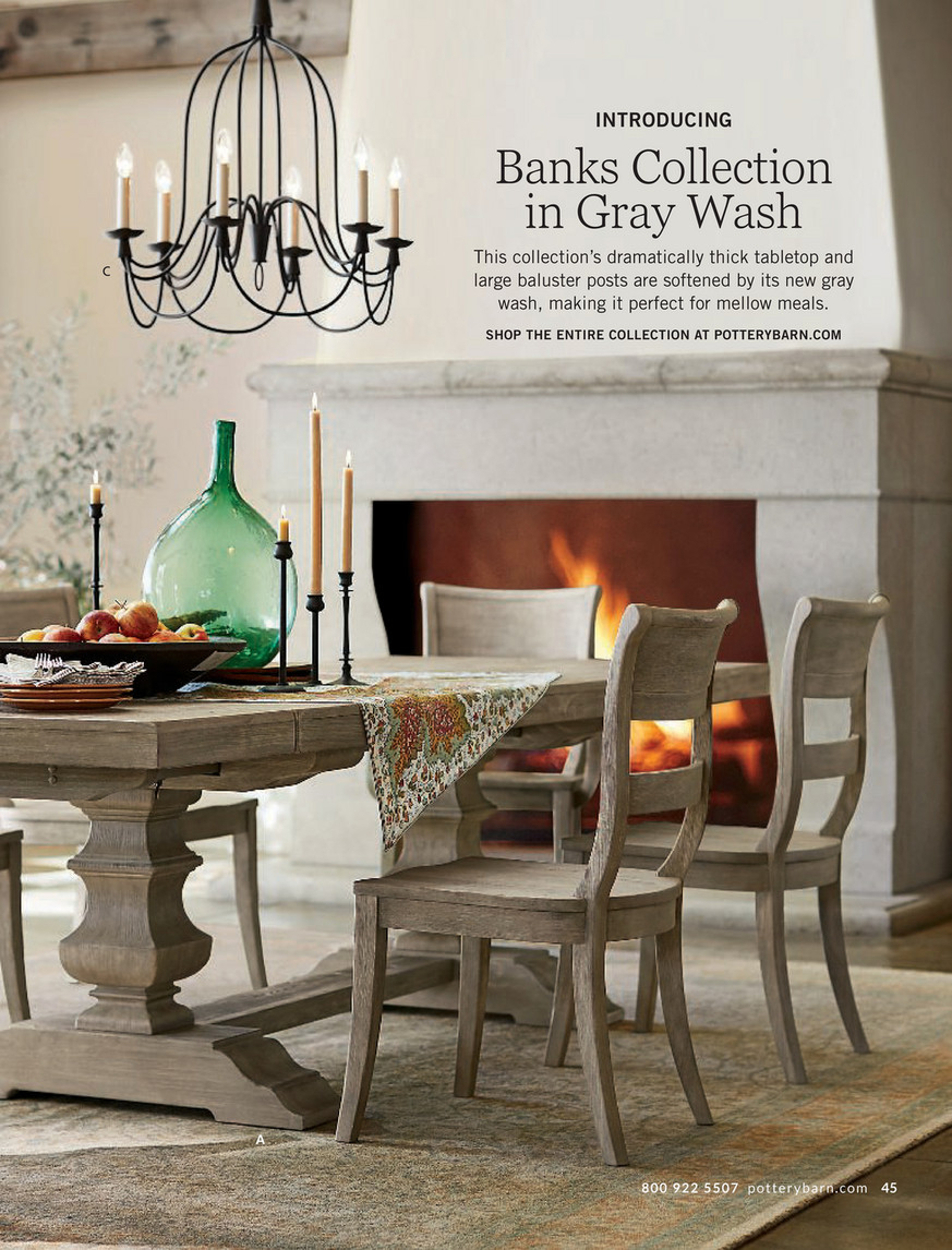 Pottery Barn – Fall 2017 D1 – Banks Buffet, Gray Wash For Latest Gray Wash Benchwright Dining Tables (View 5 of 25)