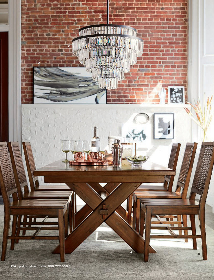 Pottery Barn – Fall 2017 D1 – Toscana Extending Dining Table For Most Recent Tuscan Chestnut Toscana Extending Dining Tables (View 6 of 25)