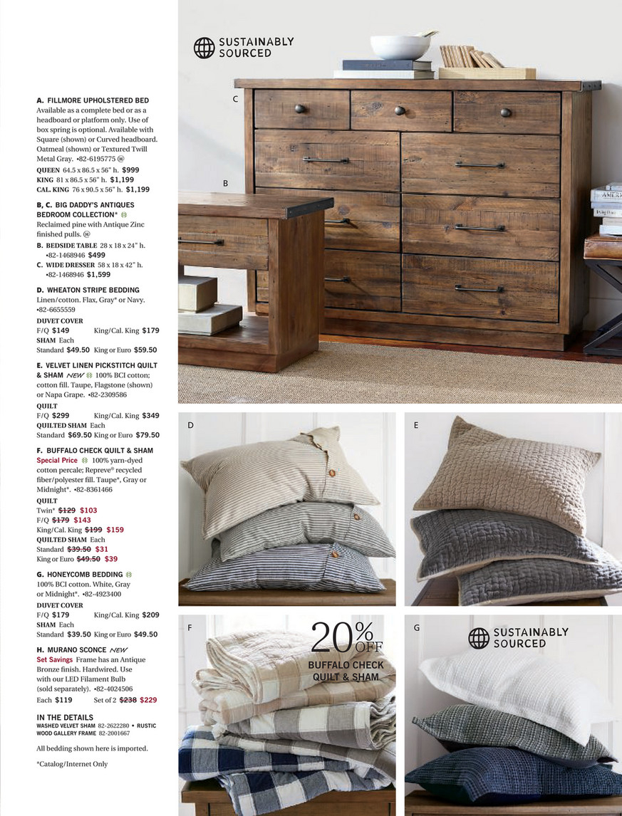 Pottery Barn – Fall 2017 D2 – Bartol Reclaimed Wood Dining Regarding Most Current Bartol Reclaimed Dining Tables (View 12 of 25)