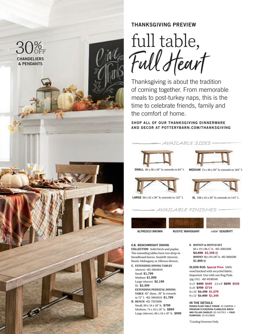 Pottery Barn – Fall 2017 D3 – Benchwright Extending Dining With 2017 Seadrift Benchwright Extending Dining Tables (View 4 of 25)