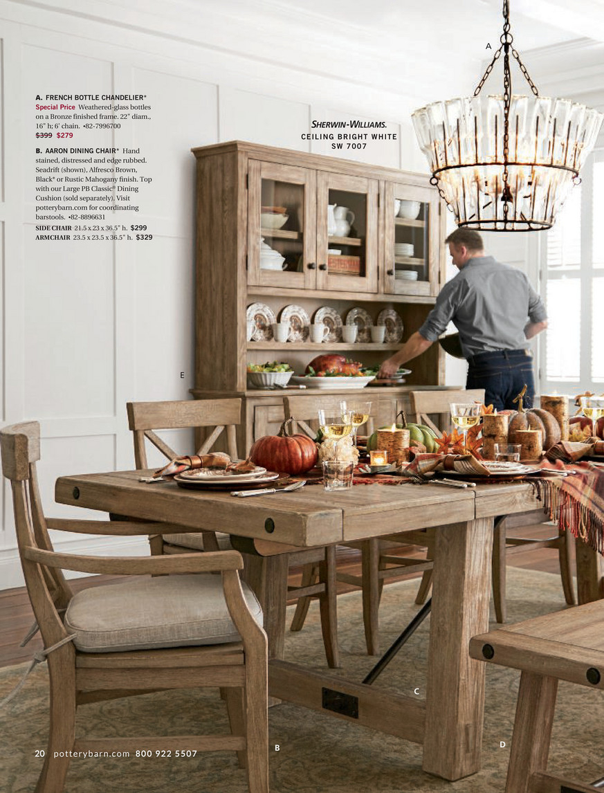 Pottery Barn – Fall 2017 D3 – Benchwright Extending Dining Within Most Recent Seadrift Benchwright Extending Dining Tables (View 13 of 25)