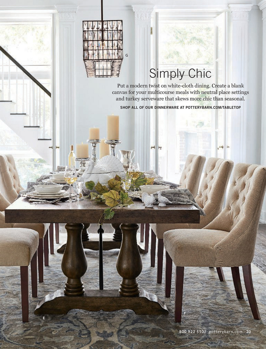 Pottery Barn – Fall 2017 D3 – Lorraine Extending Dining Regarding Newest Rustic Brown Lorraine Extending Dining Tables (View 4 of 25)