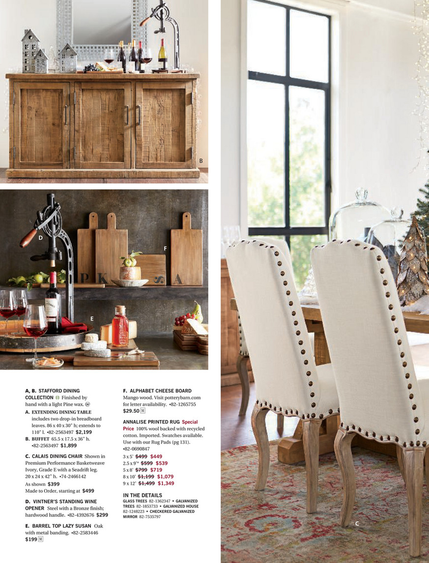Pottery Barn – Fall 2017 D3 – Stafford Reclaimed Pine Regarding Latest Stafford Reclaimed Extending Dining Tables (View 7 of 25)