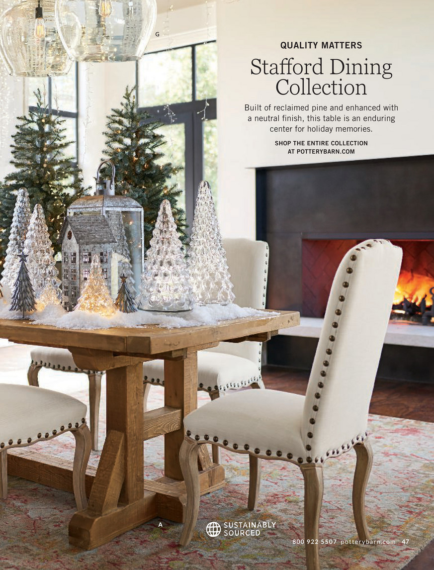 Pottery Barn – Holiday 2017 D1 – Stafford Reclaimed Pine Within Latest Stafford Reclaimed Extending Dining Tables (View 5 of 25)