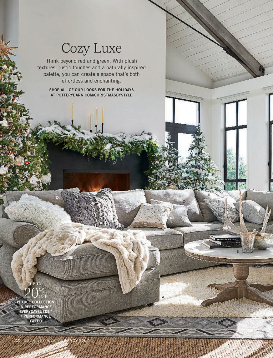 Pottery Barn – Holiday 2017 D3 – Alexandra Marble Round Pertaining To Recent Alexandra Round Marble Pedestal Dining Tables (Image 19 of 25)