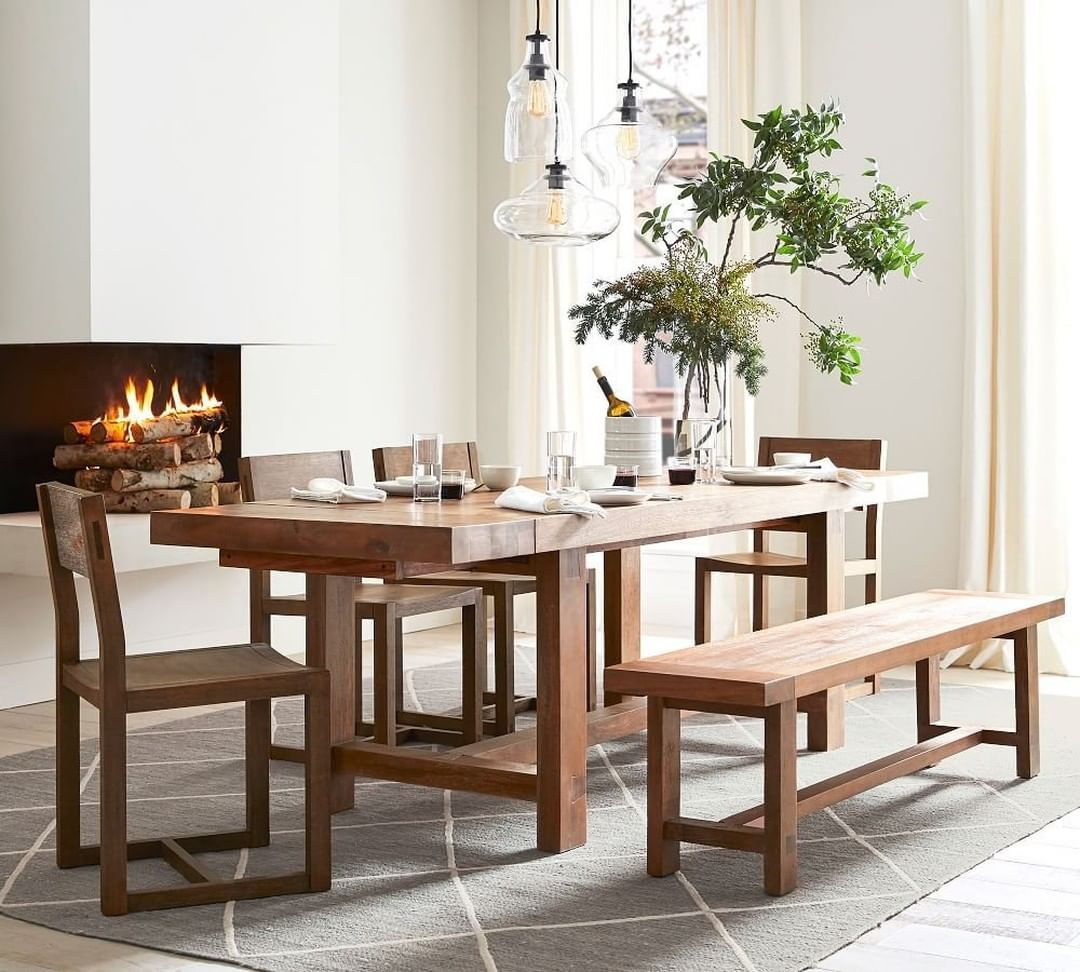 """Pottery Barn On Instagram: """"New Arrival Alert: The Reed Inside Newest Tuscan Chestnut Toscana Extending Dining Tables (View 11 of 25)"""