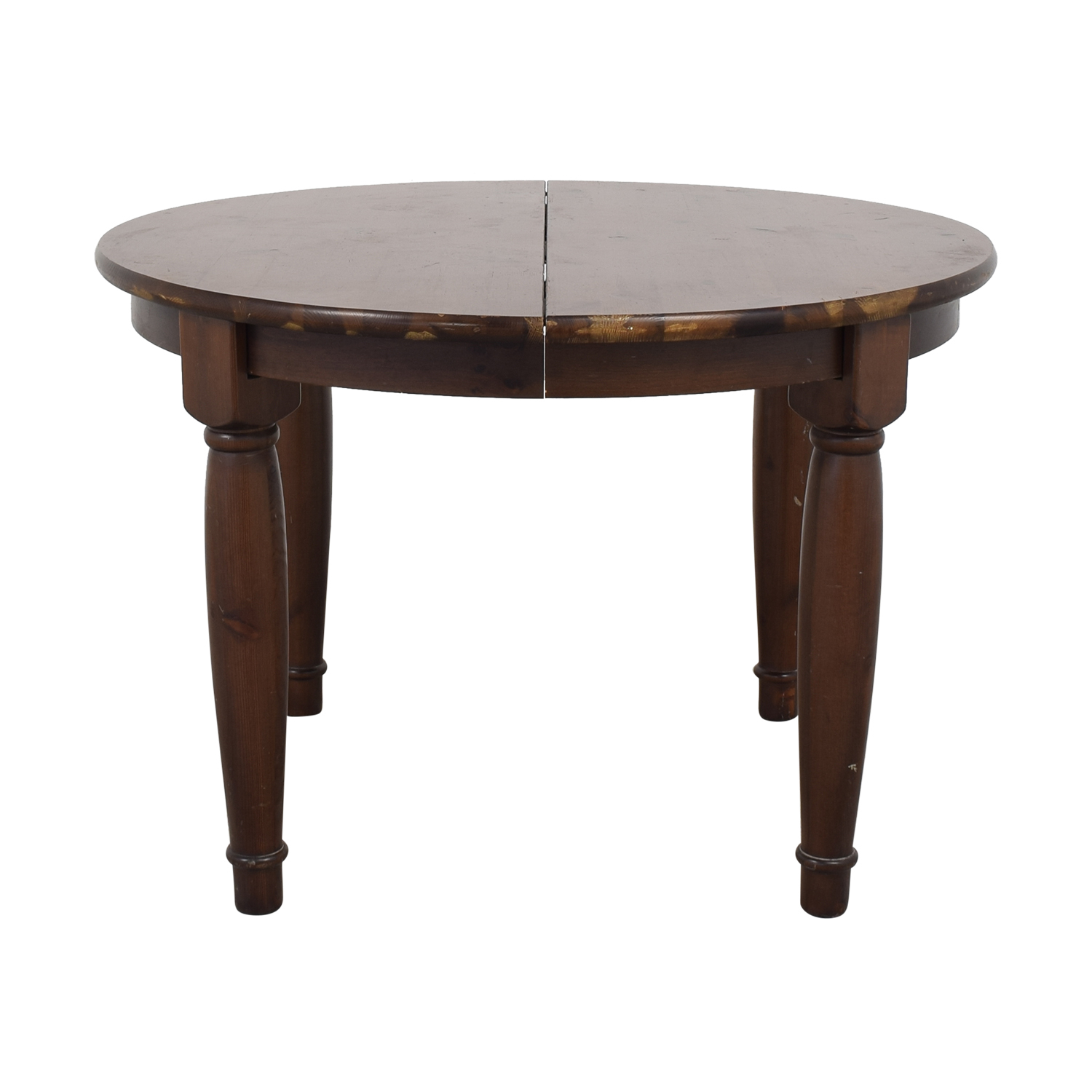 Pottery Barn Round Kitchen Table Intended For 2017 Seadrift Toscana Pedestal Extending Dining Tables (View 10 of 25)