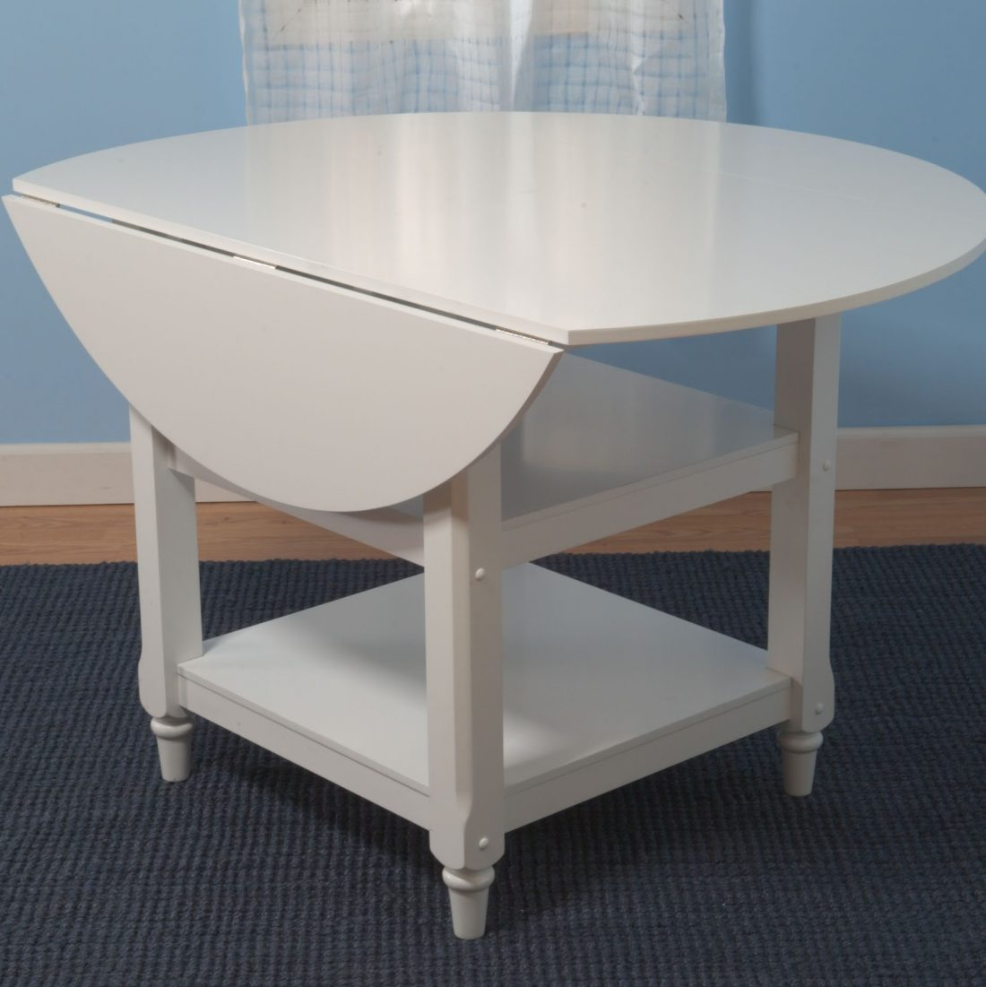 Pottery Barn Shayne Drop Leaf Kitchen Table – Copycatchic Within Most Popular Black Shayne Drop Leaf Kitchen Tables (View 3 of 25)