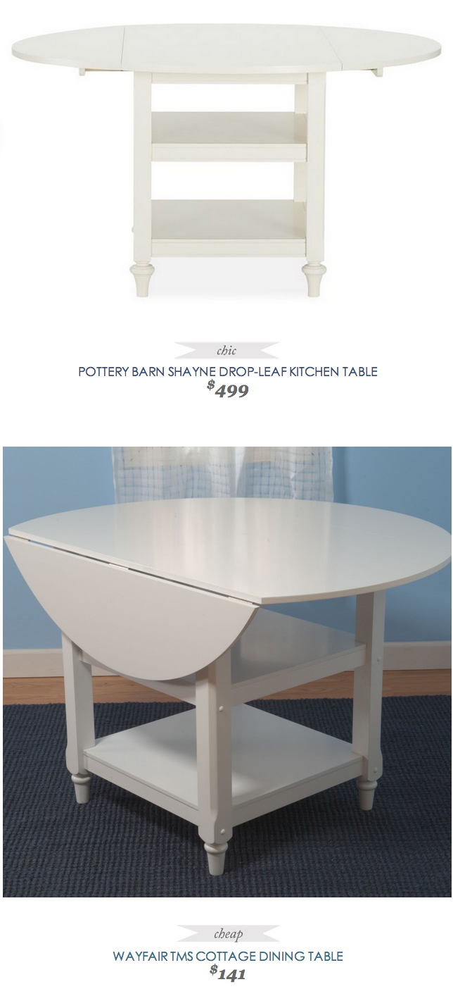 Pottery Barn Shayne Drop Leaf Kitchen Table | Dining Table Throughout Latest Black Shayne Drop Leaf Kitchen Tables (View 4 of 25)