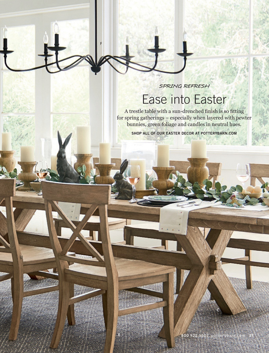 Pottery Barn – Spring 2017 D2 – Toscana Extending Dining In 2018 Seadrift Toscana Extending Dining Tables (View 12 of 25)