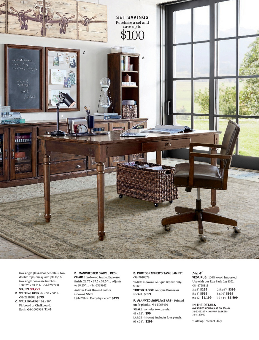 Pottery Barn – Spring 2017 D3 – Toscana Extending Dining In Most Recently Released Tuscan Chestnut Toscana Extending Dining Tables (View 10 of 25)