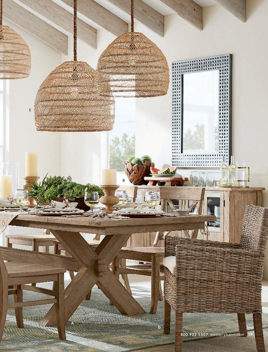 Pottery Barn – Summer 2017 D1 – Toscana Dining Table Inside Most Up To Date Seadrift Toscana Pedestal Extending Dining Tables (View 6 of 25)
