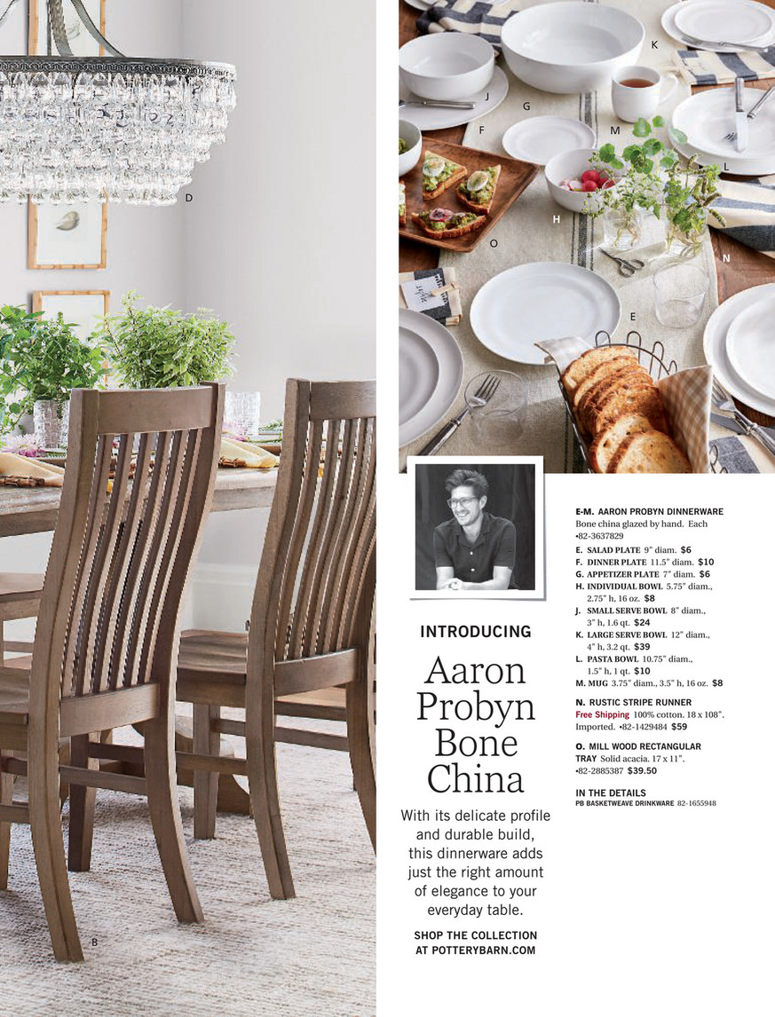 Pottery Barn – Winter 2018 D2 – Linden Pedestal Dining Table Throughout Best And Newest Linden Round Pedestal Dining Tables (View 10 of 25)
