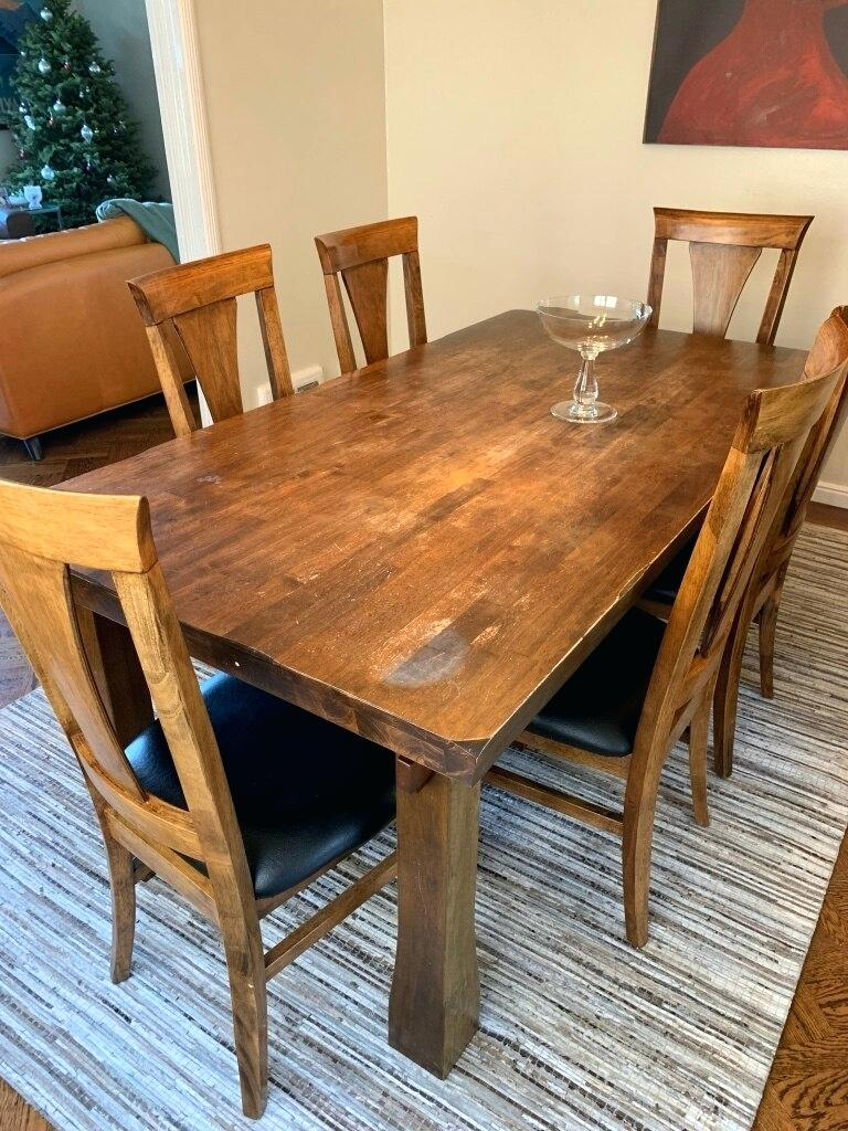 Potterybarn Dining Table – Teencuentro (View 12 of 25)