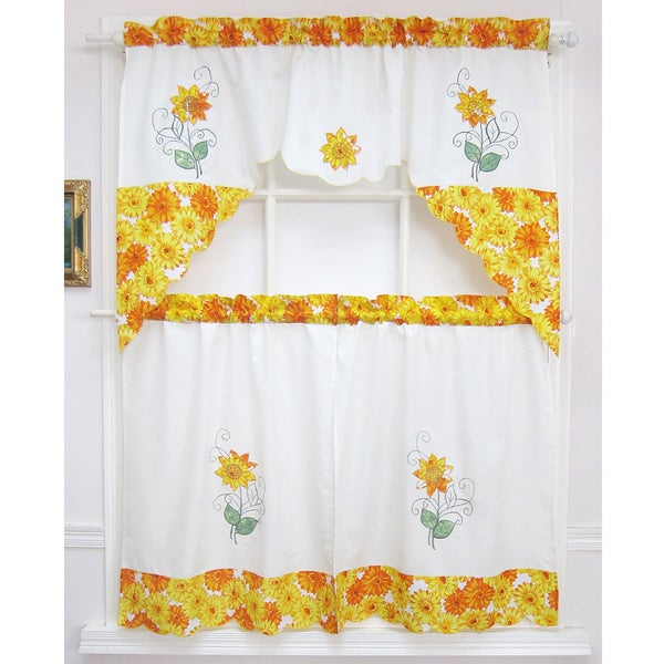 Pricewatch – Lowest Prices, Local And Nationwide Stores With Spring Daisy Tiered Curtain 3 Piece Sets (Image 17 of 25)
