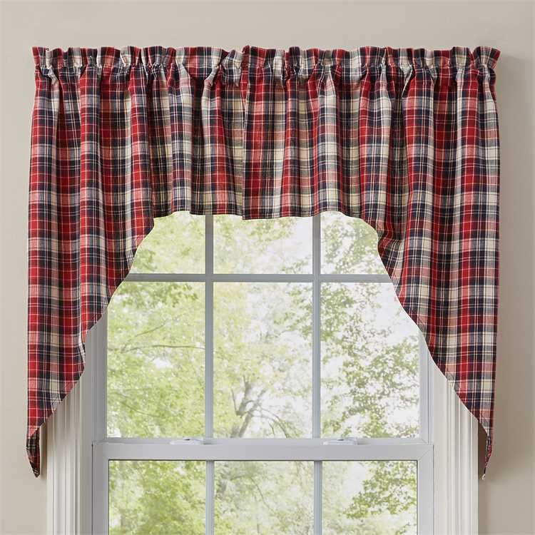 Providence Window Curtain Swag 72 X 36 In 2019 | Curtains Pertaining To Cumberland Tier Pair Rod Pocket Cotton Buffalo Check Kitchen Curtains (View 18 of 25)