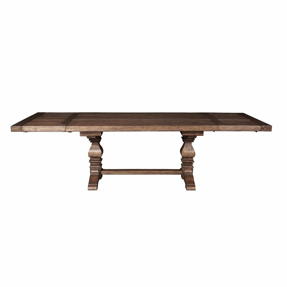 Pulaski – American Attitude Double Pedestal Dining Table Throughout 2017 Mateo Extending Dining Tables (View 23 of 25)