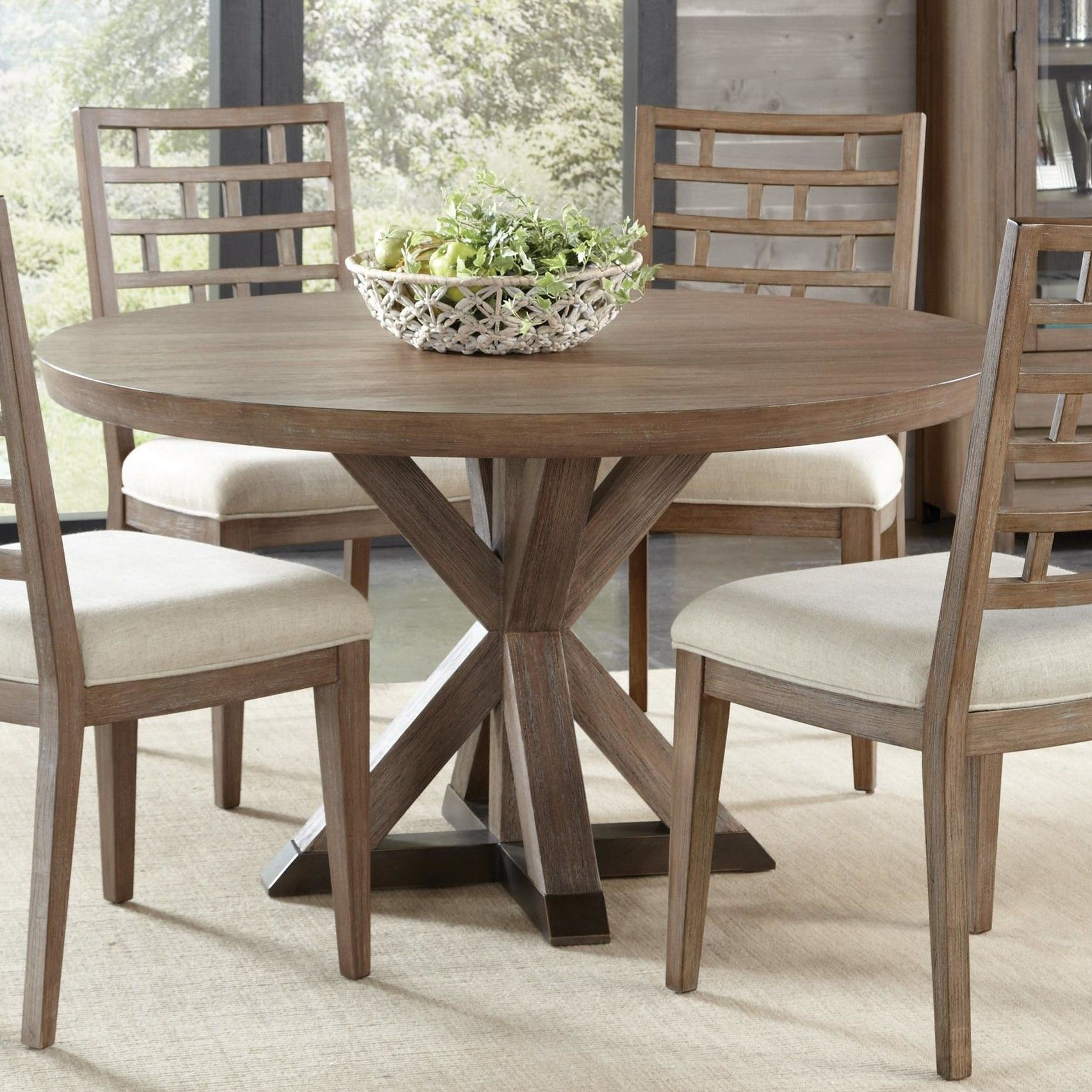 Queanbeyan Solid Wood Dining Table | Round Wood Dining Table For Most Up To Date Brooks Round Dining Tables (View 21 of 25)