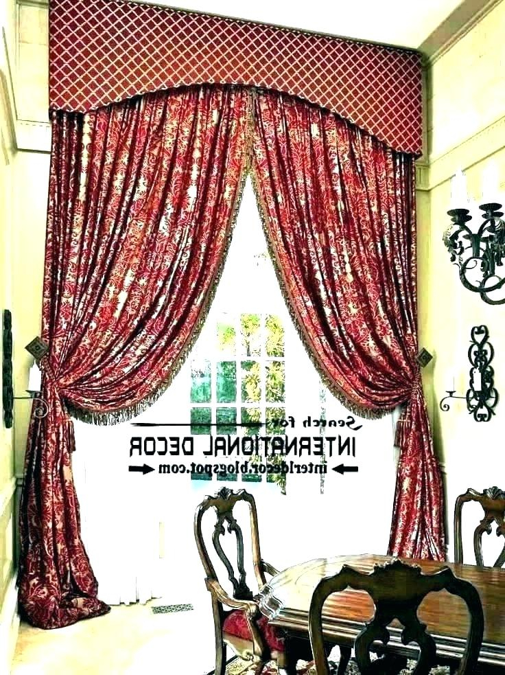 Red Kitchen Curtains And Valances – Paultay (View 12 of 25)